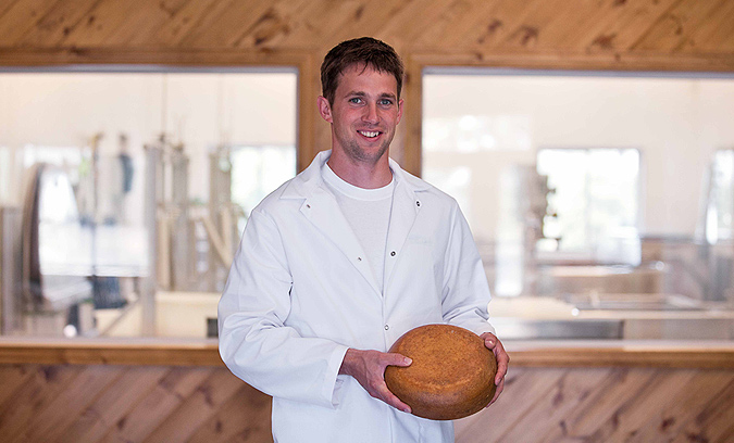 Meet our cheese maker, owner and operator - Shep Ysselstein